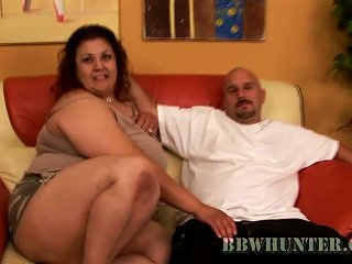 Hot  Bbw Getting Her  Fucked  And  On