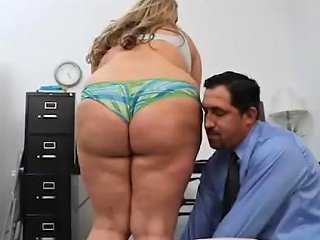 Bbw Lisa Lee Sucks Off Her Boss To Keep Her Job